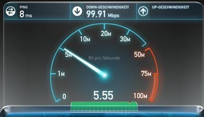 Kabel Deutschland 100 Mbit Anschluss Praxistest / Testbericht (Video)